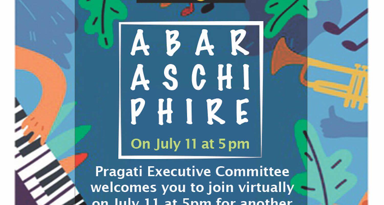 """Abar Aschi Phire"" on Pragati virtual platform"
